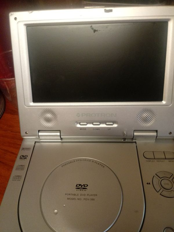 Proton portable dvd player