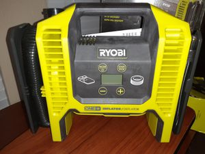 Air compressor/Inflator, Ryobi 18V Brand new. for Sale in Baton Rouge, LA