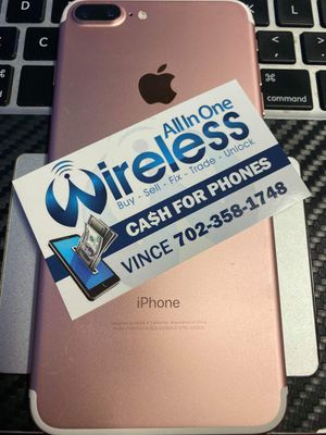 IPHONE 7 PLUS 32GB UNLOCKED ONLY for Sale in Las Vegas, NV