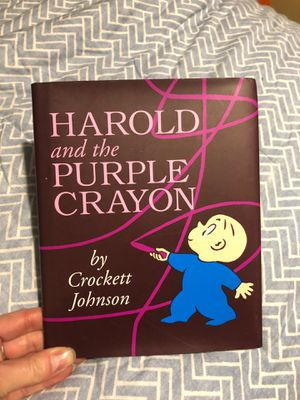 Harold & the Purple Crayon Book for Sale in Woodbury, CT