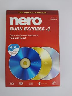 Nero Burn Express 4 - Windows for Sale in Cleveland,  OH