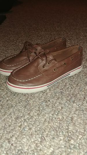Size 3 boys brown nautica shoes for Sale in Alafaya, FL