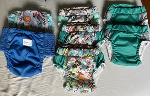 Cloth diaper training pants GroVia lil learnerz lot Small for Sale in Seattle, WA