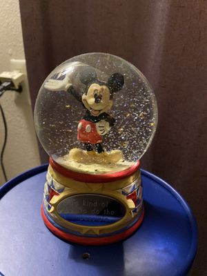 """Disney Mickey Mouse snowglobe """"It's kind of fun to do the impossible"""" for Sale in Arvada, CO"""