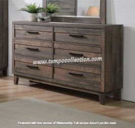 NEW IN THE BOX.*STYLISH* GREY DRESSER . SKU#TCB8280-DRESSER for Sale in Westminster,  CA