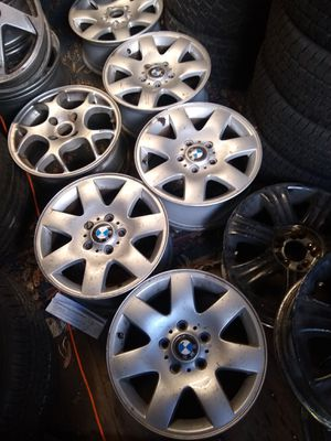 16×7 BMW rims set of 6 $35 each for Sale in Auburn, WA