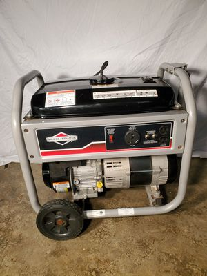 Briggs and Stratton 3500 W generator. Like New. 1150 series. for Sale in Snohomish, WA