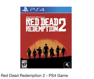 Red Dead Redemption 2-PS4 Game for Sale in Dallas, TX