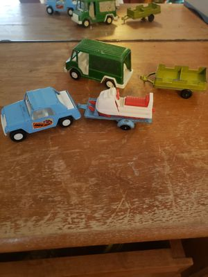 Vtg tootsie toy car trailer rare snow cat TOY LOT for Sale in Granite Falls, WA