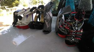 Assortment of woman's shoes size 7-7.5 for Sale in West Puente Valley, CA