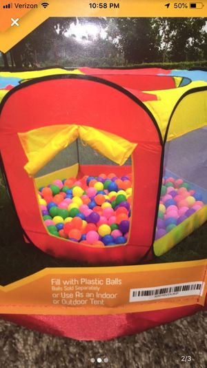 Ball Pit Play Tent (balls not included) for Sale in Vallejo, CA