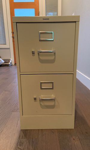 HON 2 drawer file cabinet for Sale in Portland, OR
