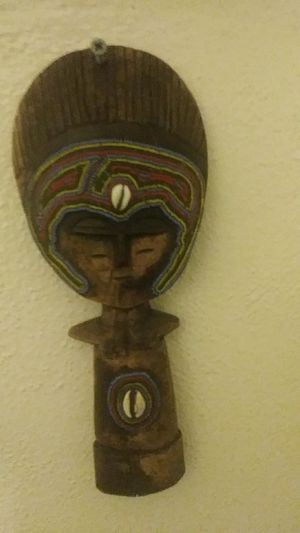 Antique African Wood Carving Sculpture Primitive Art Akuaba Fertility Doll for Sale in Long Beach, CA