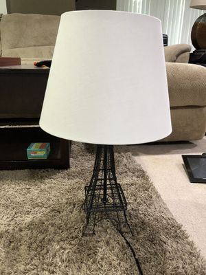 Eiffel Tower lamp for Sale in White Lake charter Township, MI