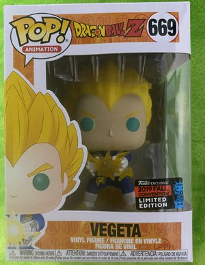 Funko Pop! Animation Dragonball Z - Vegeta #669 (2019 Fall Convention Limited Edition) for Sale in Norwalk, CA