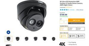 Lorex IP 4k 8MP CCTV Security Cameras System for Sale in Elmhurst, IL