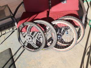 """2 sets of 26"""" mountain bike wheels for Sale in Phoenix, AZ"""