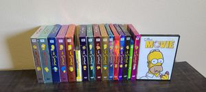 The Complete 1st-16th seasons of the Simpsons plus Simpsons movie for Sale in Kenmore, WA