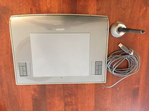 Graphics Tablet Wacom, Intuos, Model PTZ630, with Pen for Sale in Granite Bay, CA