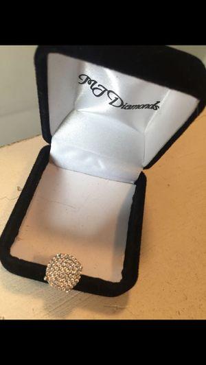 Screw back diamond earrings for Sale in Detroit, MI