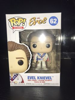 Evel Knievel Funko Pop  for Sale in Salinas, CA