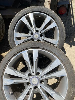 Mercedes wheels and tires for Sale in Chino, CA