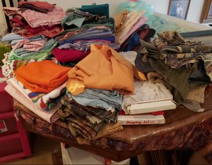 Huge Fabric Lot and some trim for Sale in Lake Elsinore, CA