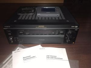 Sony Stereo + Receiver for Sale in Cupertino, CA