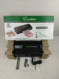 Excalibur Vacuum & Heat Sealer 12-inch EVH12 for Sale in Modesto, CA