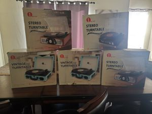 Portable Record Players for Sale in Fresno, CA
