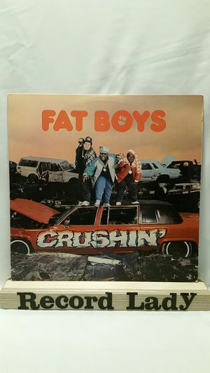 "Fat Boys ""Crushin'"" vinyl record Hip Hop for Sale in San Diego, CA"