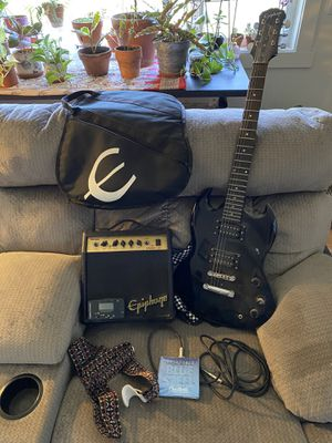 Epiphone SG starter kit for Sale in Bend, OR