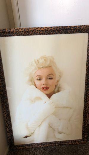 Marilyn Monroe Framed Picture for Sale in San Bernardino, CA