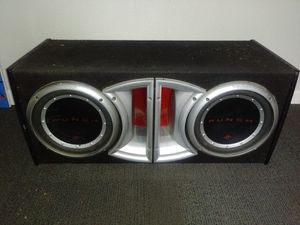"""Punch rockford fosgate 10"""" subs for Sale in Houston, TX"""