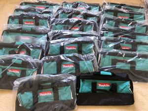 20pcs makita 21''large tool bags for Sale in Castro Valley, CA