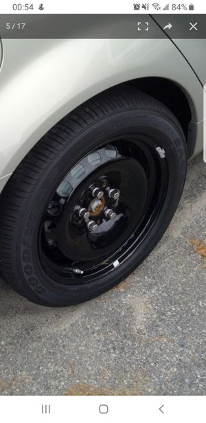4 18 inch Chevy caprice ppv steelies with 235 18 rubber for Sale in St. Louis, MO