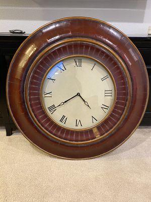 Antique red clock for Sale in Ontario, CA