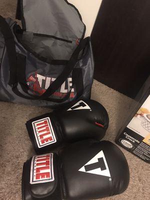 Boxing gloves, bag, wraps for Sale in Nashville, TN