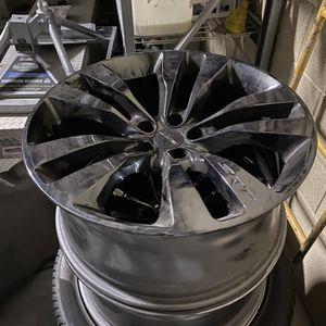 Hellcat Black chrome factory rims for Sale in Las Vegas, NV
