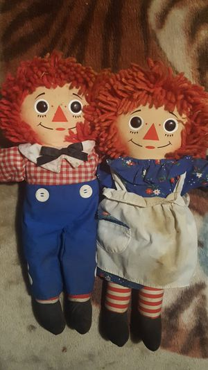 Raggedy Ann and Andy for Sale in Hayward, CA