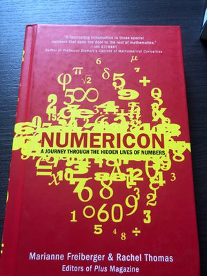 Numericon: A Journey Through the Hidden Lives of Numbers for Sale in Washington, DC