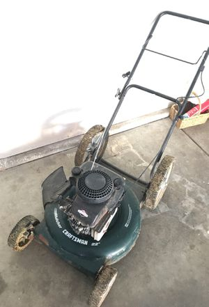 Craftsman lawn mower 22'' bag less for Sale in Fresno, CA