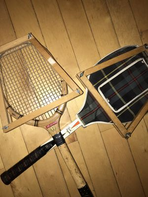 Vintage tennis rackets for Sale in Brooklyn, NY