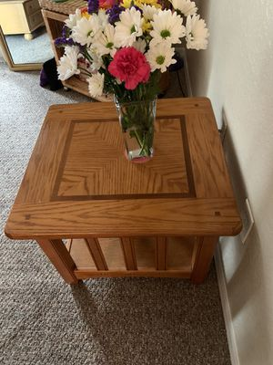 BEAUTIFUL SET OF SOLID OAK TABLES for Sale in St. Petersburg, FL