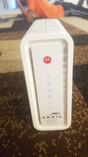 ARRIS Surfboard SBG6700-AC DOCSIS 3.0 Cable Modem Plus AC1600 Wireless Router for Sale in Phoenix, AZ