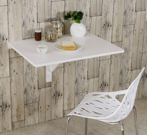 Wall-Mounted Drop-Leaf Table Folding Kitchen Dining Table Desk for Sale in Claremont, CA