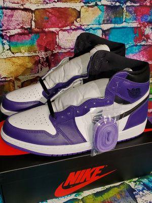"""Jordan Retro 1 """"Purple Court"""" Size 12 $250 for Sale in Bellevue, WA"""