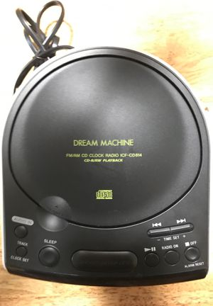 Sony, Dream Machine, FM/AM CD Clock Radio for Sale in Tampa, FL