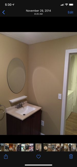 Bathroom vanity and mirror for Sale in Fall River, MA