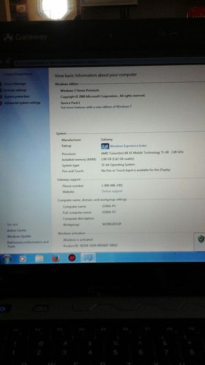 """14"""" Gateway Laptop used for Sale in Stroudsburg, PA"""